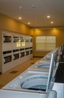 Community Center laundry facilities