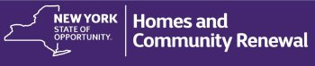 New York State of Opportunity Homes and Community Renewal logo